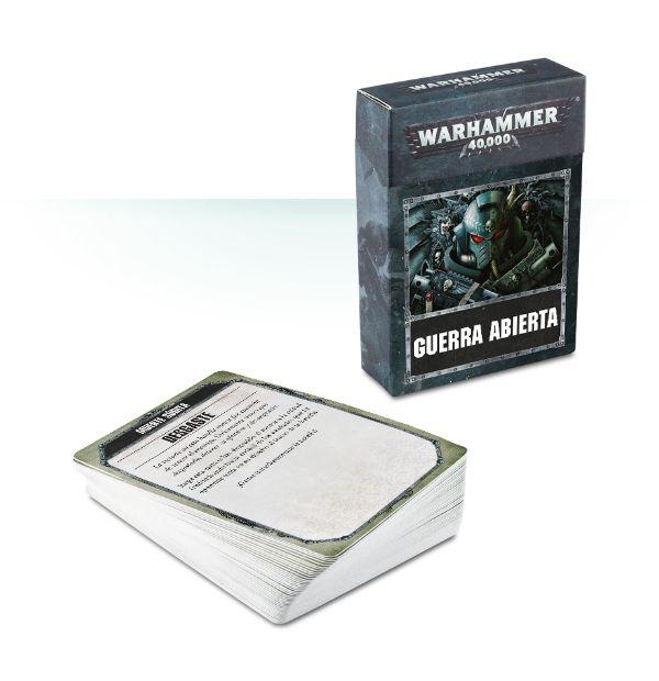 Cartas de Guerra abierta de Warhammer 40,000