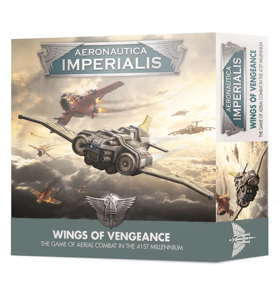 Aeronautica Imperialis: Wings of Vengeance (Inglés)