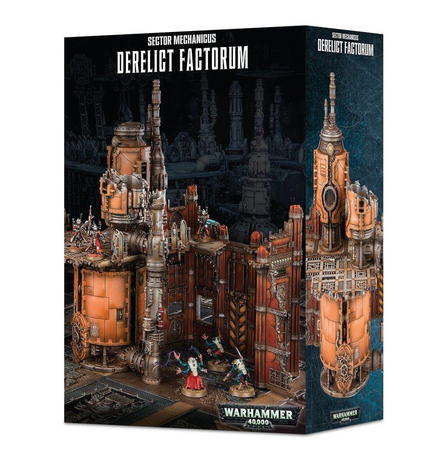 Sector Mechanicus: Derelict Factorum