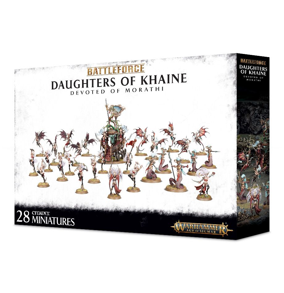 Daughters of Khaine Devoted of Morathi