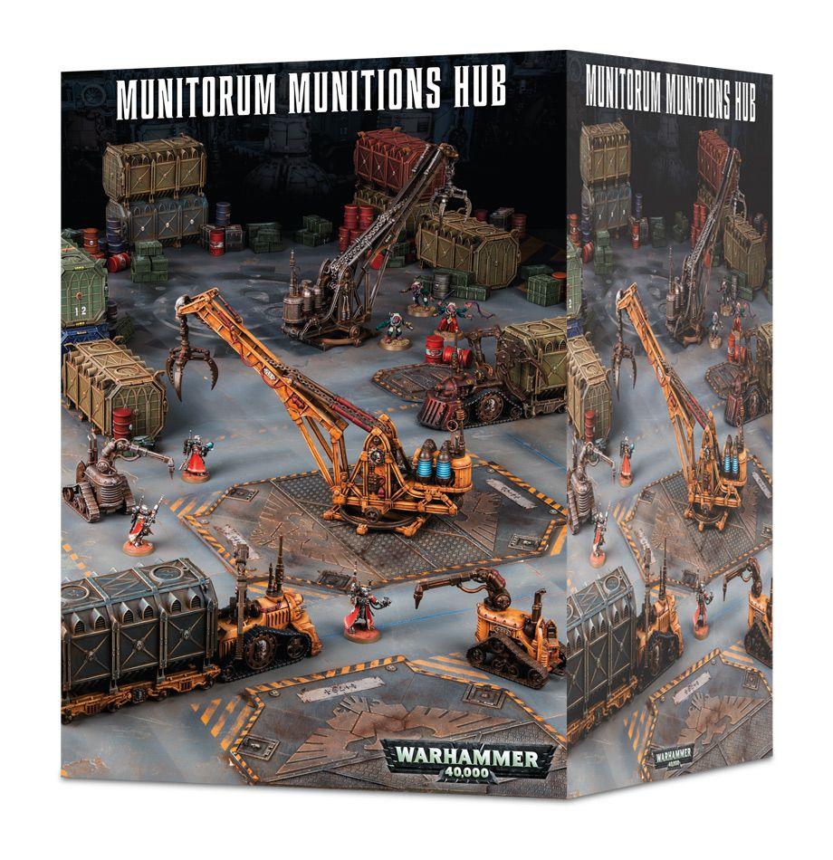 Sector Mechanicus: Munitorum Munitions Hub