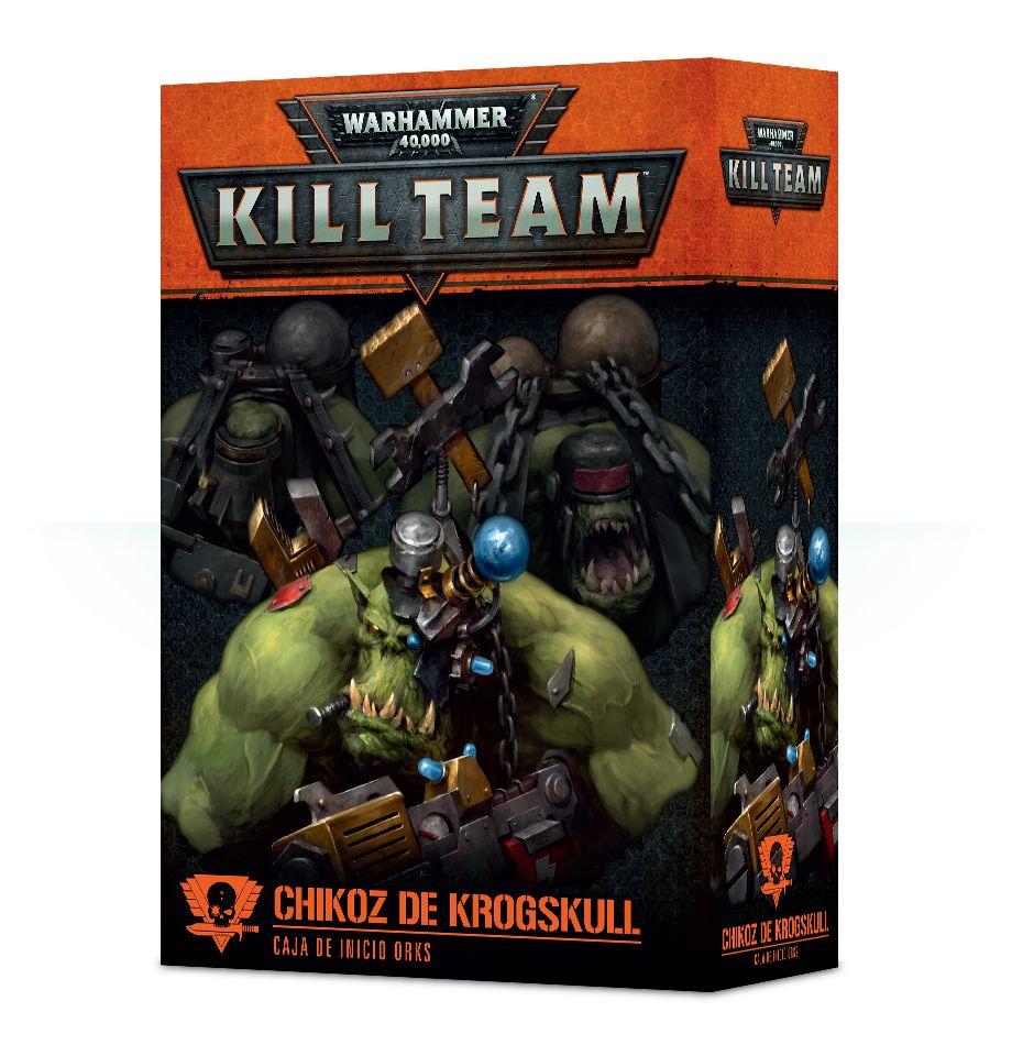 Orkos : Kill Team: Chikoz De Krogskull
