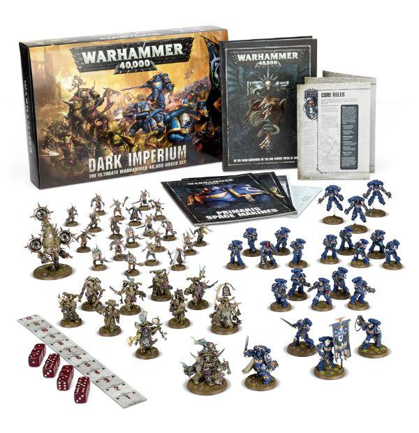 Warhammer 40.000 Dark Imperium: La caja básica (inglés)