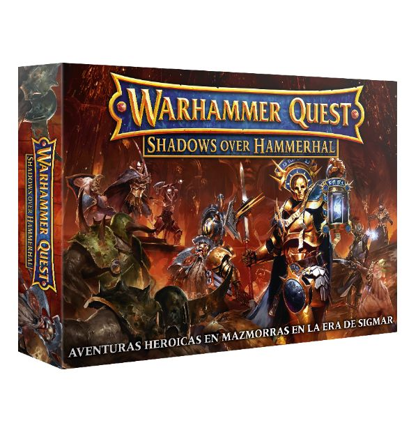 Warhammer Quest Shadows Over Hammerhal (Español)