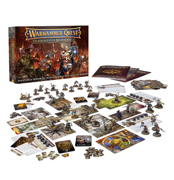 Warhammer Quest Shadows Over Hammerhal (Español)