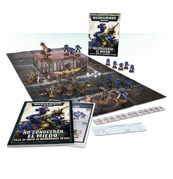 No conocerán el miedo: una caja de inicio de Warhammer 40,000