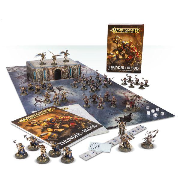 Thunder & Blood: una caja de inicio de Warhammer Age of Sigmar