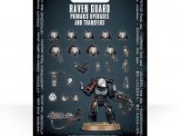 Mejoras y calcomanías de Primaris Raven Guard