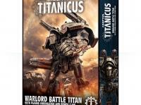 Warlord Battle Titan del Adeptus Titanicus con Plasma Annihilator y Power Claw