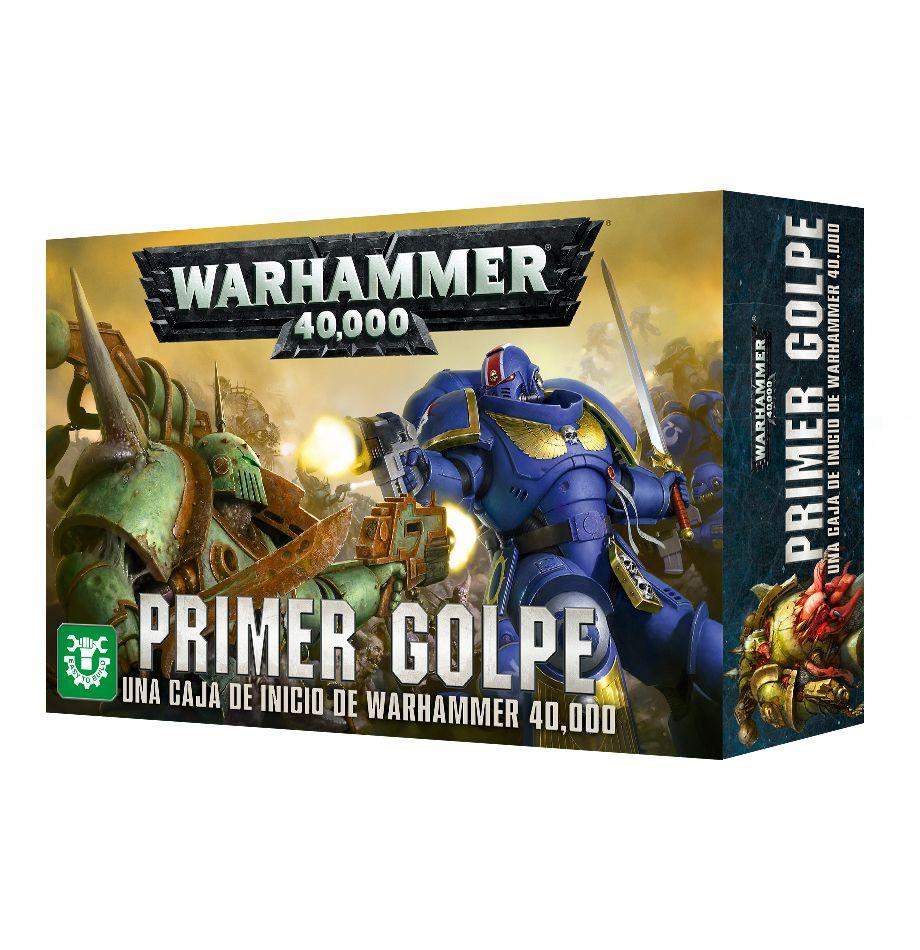 Primer golpe: una caja de inicio de Warhammer 40,000