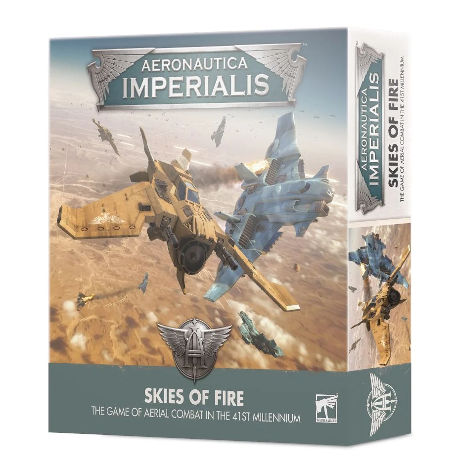 Aeronáutica Imperialis: Skies of Fire (Inglés)