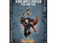 BLOOD ANGELS CHAPLAIN WITH JUMP PACK - Capellán con Propulsor de Asalto