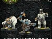 Northkin Bear Handler & Battle Bears Unit