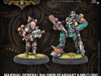 Marshal General Baldwin Gearhart & Mr. Clogg Warcaster Unit